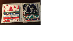 VINTAGE CHRISTMAS GIFT WRAPPING SAMPLES BY ARTCREST 1960