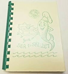Vintage From Sea to Skillet Women's Surf Fishing Club New Jersey Cookbook 1966