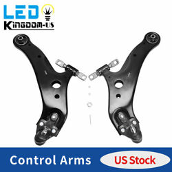 2 Front Lower Control Arm W/ball Joint For Toyota Highlander Lexus Rx350/rx450h