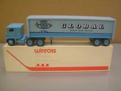 Winross 'global World Wide Moving' Tractor Trailer Truck 1/64 Scale Mint In Box