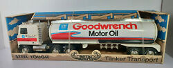 Tanker Gm Goodwrench Semi Truck Tractor Trailer Nylint Pressed Steel Rare Vtg