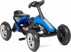 Koreyosh Kids Pedal Go Kart Ride-on Car Toy With 4 Wheels Racer Driving Outdoor