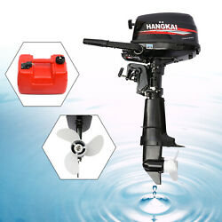 4 Stroke 123cc Outboard Motor Inflatable Fishing Boat Engine Motor Water-cooling