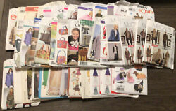 Lot 41 Mixed Vintage Sewing Patterns Mail Order Mccalls Simplicity Butterick