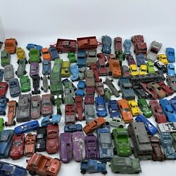 Huge Lot 110+ Tootsie Toy More Die Cast Iron Metal Cars , Trucks Early