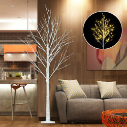 180cm White Easter Birch Tree Led Light Up Christmas Twig Outdoor Party Decor