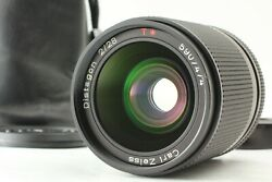 【near Mint】 Contax Carl Zeiss Distagon T 28mm F2 Aeg Lens For C/y Mount Japan