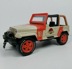 Jurassic World Jp18 Legacy Collection 9 Jeep Wrangler W/working Winch