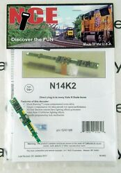 Nce N14k2 Drop-in Dcc Decoder For Kato N Scale Locomotives