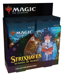 strixhaven School Of Mages - Collector Booster Box - Mtg - Sealed