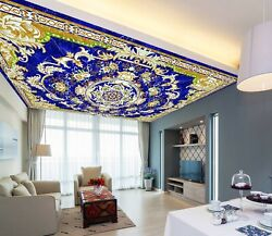 3d Yellow Leaves Zhu171 Ceiling Wall Paper Wall Print Decal Wall Deco Zoe