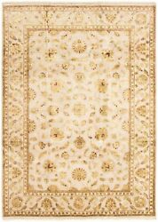 Hand-knotted Carpet 8and0396 X 11and03911 Harrir Select Traditional Wool/silk Rug