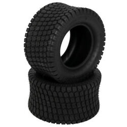 Set Of 2 24x12.00-12 Turf Tires Lawn Mower Tractor 8 Ply 24x12-12 Tubeless