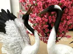 Japan39s Rare Beautiful This Is A Japanese Crane A Very Profitable 2piece Set