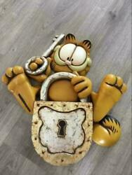 Garfield Limited Rare Difficult To Obtain Figure Doll Wall Hanging Poster
