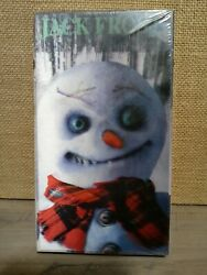 Jack Frost 1996 Vhs Brand New Factory Sealed Rare Horror Small Tear Bottom
