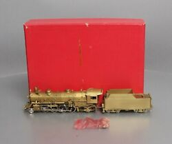 Key Imports 2480 Ho Scale Brass Up 2-8-2 Mikado Steam Locomotive And Tender Ex/box