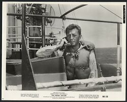 Robert Mitchum In The Enemy Below And03961 Wwii Ship Lifebelt