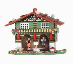 German Weather House With Bavarian Couple Made In Germany Weatherhouse