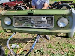 1970 International Scout 80 800 Grille Grill Assembly With Insert Original