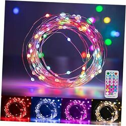 Colors Changing Fairy Lights 33ft 100 Led Multicolored Twinkle Starry String