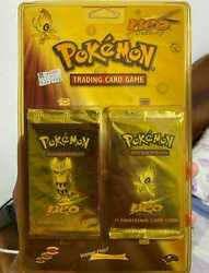 Pokemon Neo Destiny Twin Sealed Blister Pack Wotc Vintage Collection