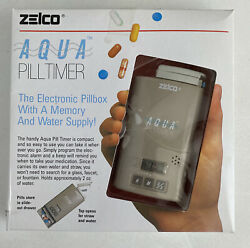 Zelco Aqua Pill Timer With A Memory And Water Supply New Open Box