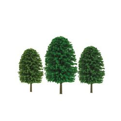 Jtt Scenery Products 92033 Z 1-2 Scenic Trees Pack Of 55
