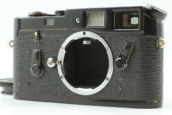 [excellent+++++] Leica M4 Black Paint Chrome Film Camera From Japan