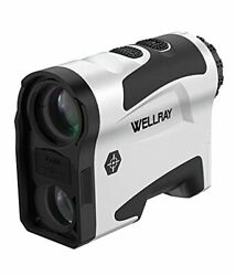 Wellray Laser Golf/hunting Rangefinder, 7x Magnification Clear View 1000 Yards L