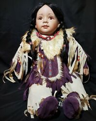 Cathay Collection 22 Native American Indian Girl Doll Limited 198/3000