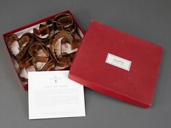 Martha Stewart By Mail Vintage Copper Hearts Cookie Cutters Set Of 13 Pieces