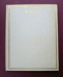 William Russell Flint Thoughts Song Solomon Limited 500 Vellum Dj Slipcase Rare