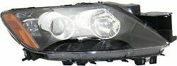 Cpp Replacement Passenger Headlight W/o Bulbs Ma2519162 For 2012 Mazda Cx-7