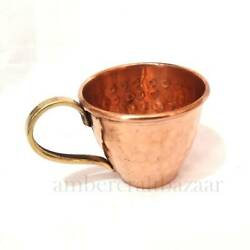 Vintage Style Copper Tea Coffee Cups Set With Serving , Kitchen Decor