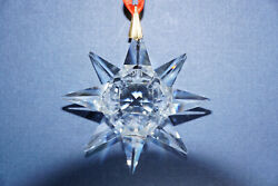 1991 First Edition Crystal Christmas Ornament
