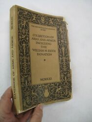 Middle Ages Medieval Collection Arms Armor William H. Riggs Swords Daggers 1921