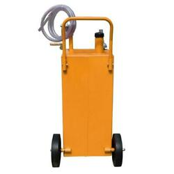 30 Gallon Gas Fuel Diesel Caddy Transfer Tank Container Labor-saving Design New