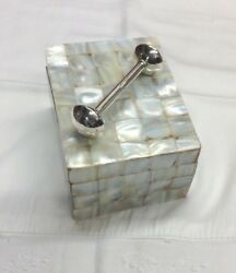 Sterling Silver Baby Rattle Monica Scott Native Navajo Heirloom Quality Gift Bag