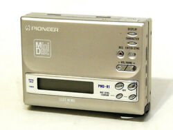 Pioneer Md Recorder Pmd-r1 Silber Tragbar Minidisc Recorder Vintage Antiques