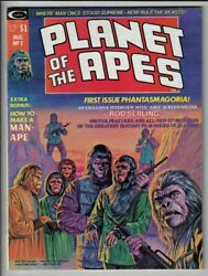 Planet Of The Apes 1 Vf- Magazine 1974