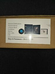 Janis Joplin-days And Summers-genesis Publications-deluxe-sold Out-new-22/350