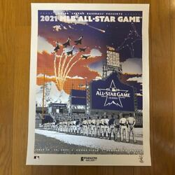 Limited To 110 Works 2021 Mlb All-star Poster Shohei Otani Participated