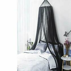 Mosquito Netbed Canopy Hanging Circular Curtain Netting For Single To King Size