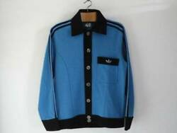 1970 Adidas Aluminum Button Jacket Made In West Germany Vintage Jersey Soccer