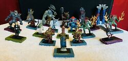 Dreamblade Wotc Collectible Lot All Rare And Uncommon Miniatures Dandd And Dgs
