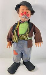 Vintage Willie The Clown Hobo Doll By Emmett Kelly / Baby Barry Toys