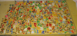 Vintage Lot Of 685 Cracker Jack And Gumball Prize Toysassorted Theme