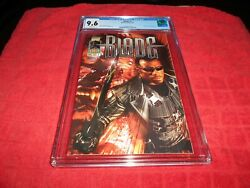 Blade 1 Cgc 9.6 1997 Wesley Snipes Photo Cover.