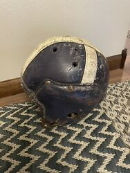 Antique Holy Cross Leather Football Helmet Rare Find $100.00
